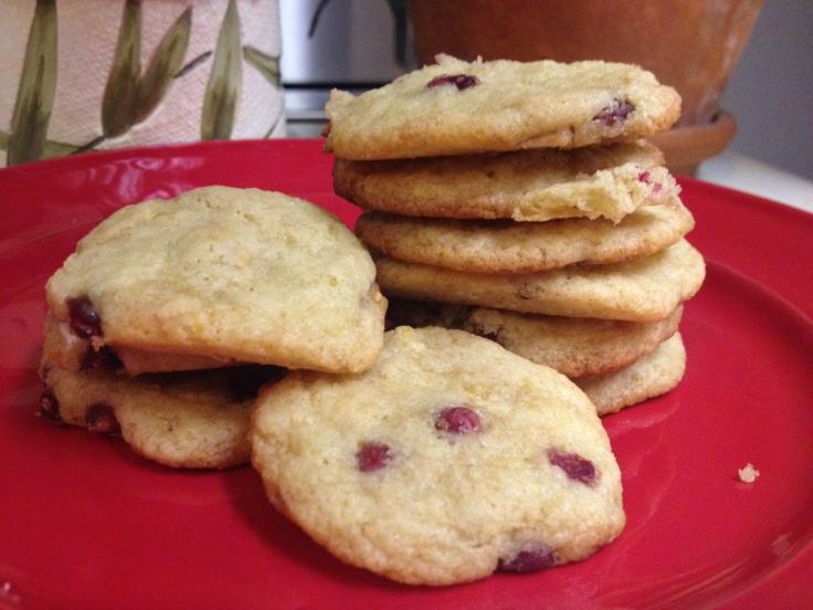 Lemon Pomegranate cookies