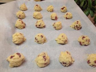 lemon pom cookies