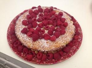 Lemon Almond cake with Greek yogurt