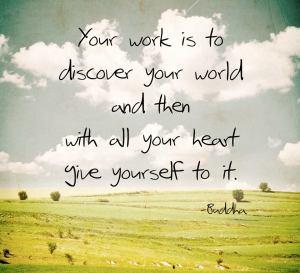 buddha - your work