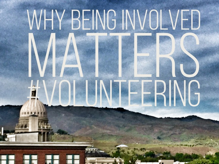being involved matters