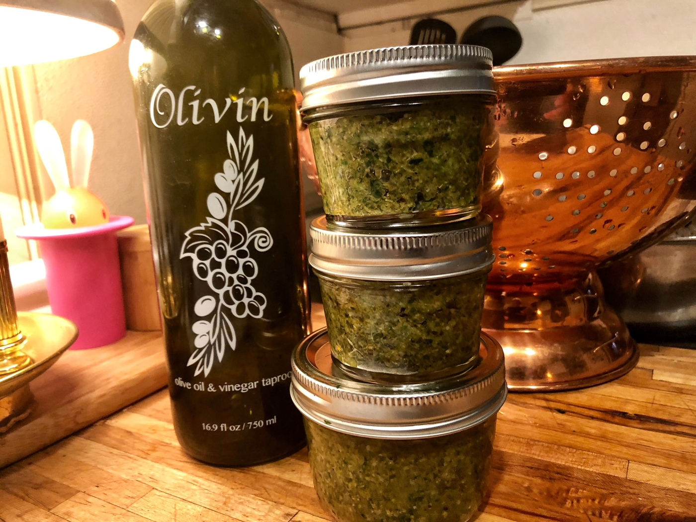 Orange Walnut Sage Pesto