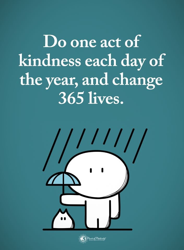 give acts of kindness