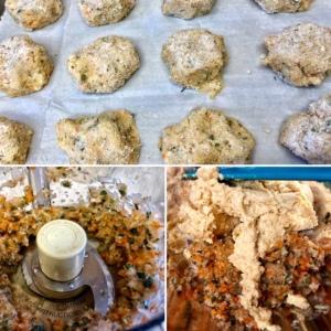 veggie meatball process