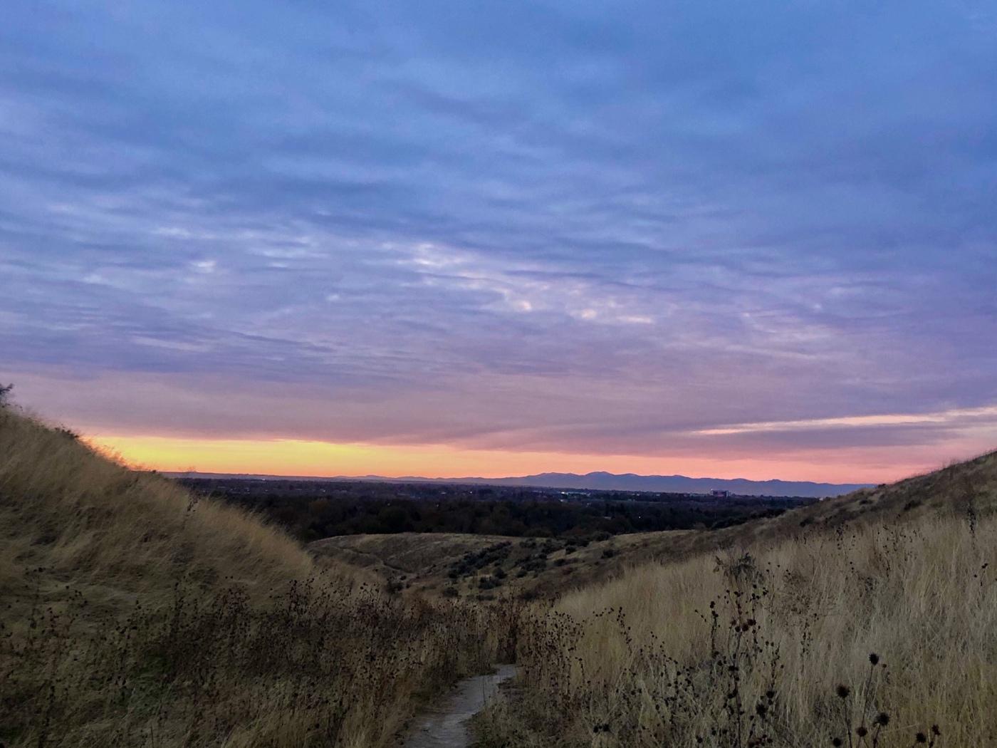 My Morning Hike, Boise