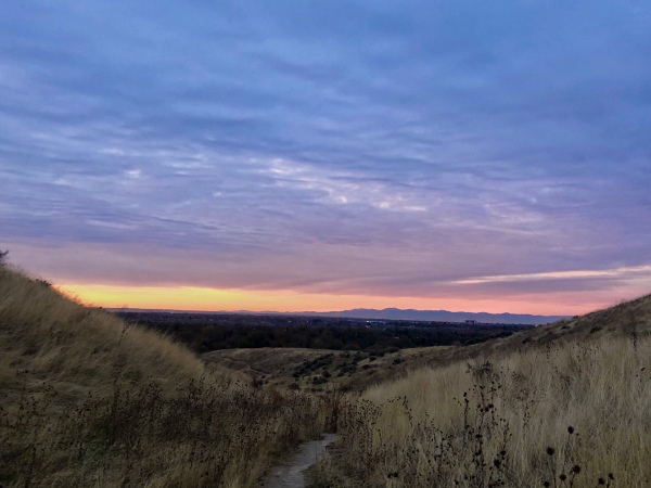 My Morning Hike, Boise