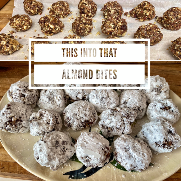 Almond Chocolate Bites