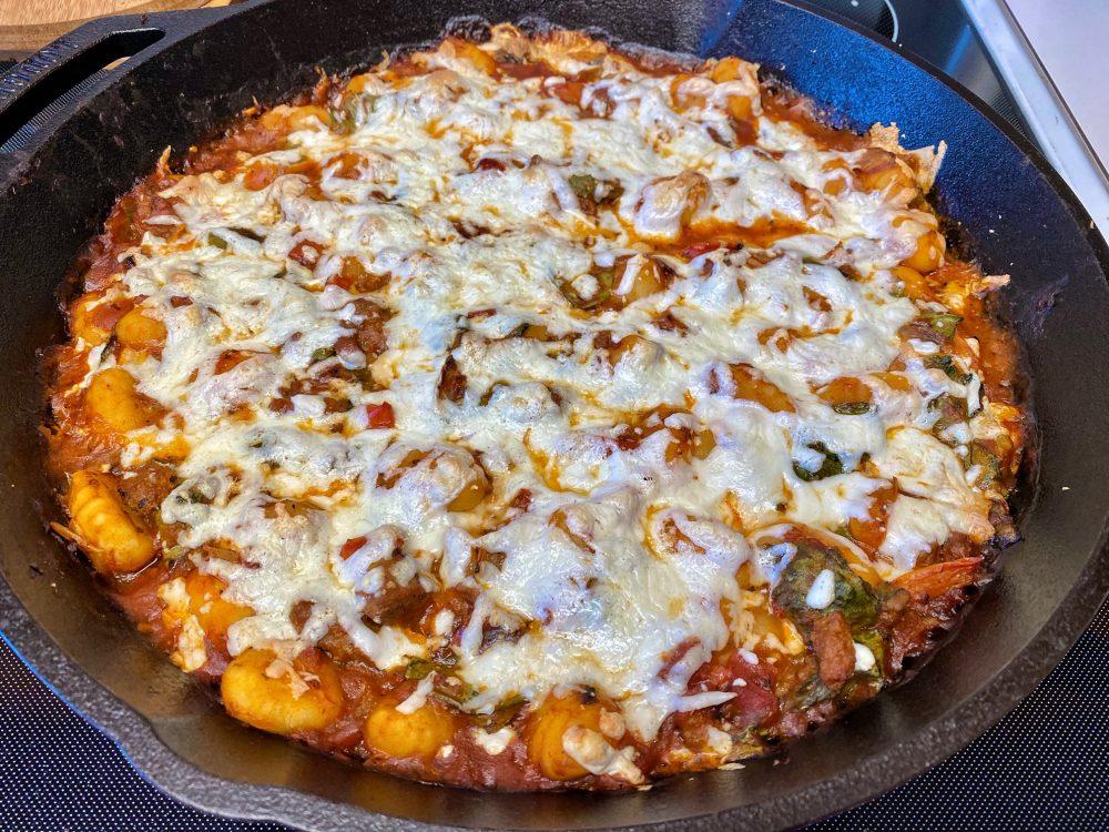 cast iron skillet gnocchi lasagna